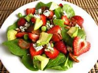 Salads And Dressings - Spinach And Strawberry Salad