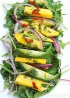 Salads And Dressings - Avocado And Mango Salad
