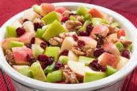 Salads And Dressings - Cranberry Waldorf Salad