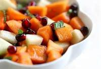Salads And Dressings - Fruit -  Persimmon Salad