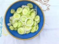 Salads And Dressings - Cucumber-onion Salad