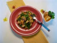 Salads And Dressings - Fruit -  Mango Pineapple Salad With Mint