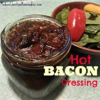 Salads And Dressings - Hot Sweet And Sour Bacon Dressing