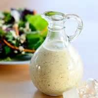 Salads And Dressings - Dressing -  Creamy Italian Dressing Recipes By Elle