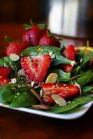 Salads And Dressings - Fruit -  Strawberry-spinach Salad