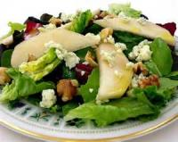 Salads And Dressings - Fruit -  Blue Cheese And Pear Salad