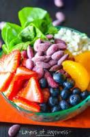 Salads And Dressings - Fruit -  Strawberry Blue Cheese Salad