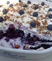 Salads And Dressings - Blueberry Jell-o Salad