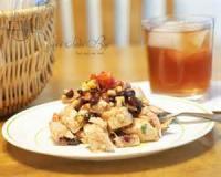 Salads And Dressings - Fruit -  Southwestern Cantaloupe Salad