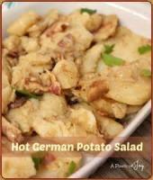 Salads And Dressings - German Hot Noodle Salad