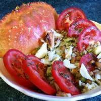 Salads And Dressings - Crab Wild Rice Salad