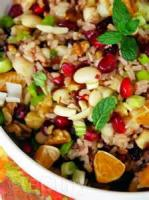 Salads And Dressings - Fruited Wild Rice Salad