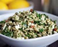Salads And Dressings - Orzo Salad - Greek Style