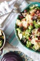 Salads And Dressings - Pasta -  Broccoli Pasta Salad Recipes By Becky