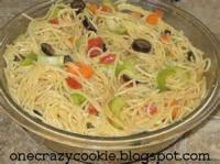 Salads And Dressings - Pasta -  Spaghetti Salad