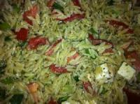 Salads And Dressings - Pasta -  Greek Pasta Salad By Connie