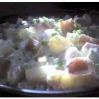 Salads And Dressings - Potato -  Sour Cream Potato Salad Recipes By Becky