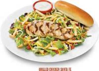 Salads And Dressings - Sante Fe Bbq Shrimp Salad
