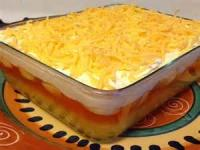 Salads And Dressings - Gelatin -  Orange Cheese Salad