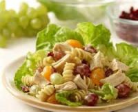Salads And Dressings - Pasta Fruit Salad