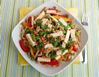 Salads And Dressings - Rice Noodle Salad With Vegetables And Tofu