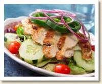 Salads And Dressings - Fried Oyster Salad With Bacon Vinagrette Dressing