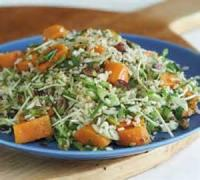 Salads And Dressings - Rice -  Nutty Brown Rice Salad