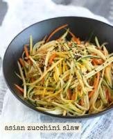 Salads And Dressings - Cool Zucchini Slaw