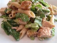Salads And Dressings - Pasta -  Chicken Pasta Caesar Salad