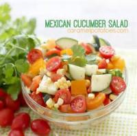 Salads And Dressings - Potato -  Mexican Potato Salad