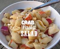 Salads And Dressings - Seashells Crab Salad