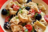 Salads And Dressings - Three Cheese Tortellini Salad
