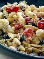 Salads And Dressings - Chilled Pasta, Roast Garlic And Tomatoes