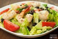 Salads And Dressings - Greek Salad With Shrimp