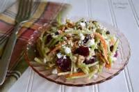 Salads And Dressings - Cranberry Walnut Coleslaw