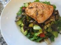Salads And Dressings - Grilled Salmon And Vegetable Salad