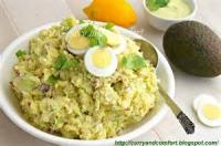 Salads And Dressings - Curried Potato Salad