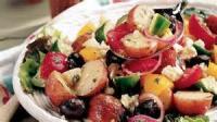 Salads And Dressings - Greek Potato Salad With Feta Vinaigrette