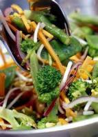 Salads And Dressings - Oriental Pea Salad