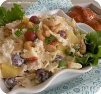 Salads And Dressings - Pineapple Pasta Salad