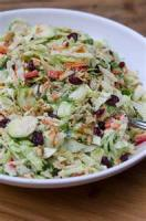 Salads And Dressings - Slaw -  Cranberry Walnut Slaw