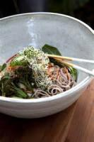 Salads And Dressings - Soba Noodle Salad