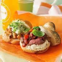 Sandwiches - Beef -  Savory Beef And Cheese Roll-ups