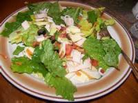 Salads And Dressings - Green Salad With Hot Bacon Dressing