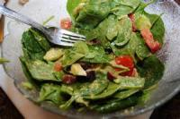 Salads And Dressings - Spinach Salad