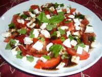 Salads And Dressings - Tomato -  Mozzarella Ad Tomato Salad