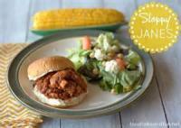 Sandwiches - Beef -  Sloppy Janes