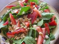 Salads And Dressings - Spinach -  Zesty Spinach Salad