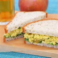 "Sandwiches - Curried Tofu ""eggless"" Salad"