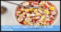 Salads And Dressings - Cherry Tomatoes With Garlic And Basil